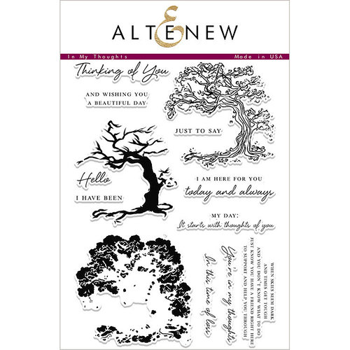 Altenew - Clear Photopolymer Stamps - In My Thoughts