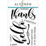 Altenew - Clear Acrylic Stamps - Mega Greetings