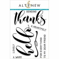 Altenew - Clear Photopolymer Stamps - Mega Greetings