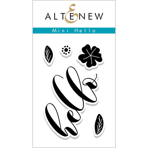 Altenew - Clear Photopolymer Stamps - Mini Hello