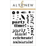 Altenew - Clear Acrylic Stamps - Party Time