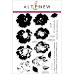 Altenew - Clear Acrylic Stamps - Strength Blooms