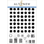 Altenew - Clear Acrylic Stamps - Watercolor Dots