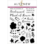 Altenew - Clear Acrylic Stamps - Bride To Be