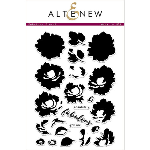 Altenew - Clear Photopolymer Stamps - Fabulous Floral