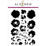 Altenew - Clear Acrylic Stamps - Fabulous Floral