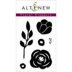 Altenew - Clear Acrylic Stamps - Floral Elements