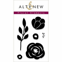 Altenew - Clear Photopolymer Stamps - Floral Elements