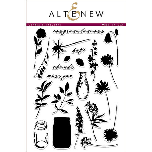 Altenew - Clear Acrylic Stamps - Garden Silhouette