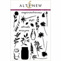 Altenew - Clear Photopolymer Stamps - Garden Silhouette