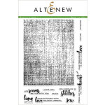 Altenew - Clear Acrylic Stamps - Rustic Linen