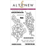Altenew - Clear Acrylic Stamps - Starry Flowers