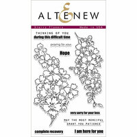 Altenew - Clear Photopolymer Stamps - Starry Flowers