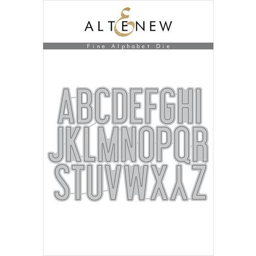Altenew Fine Alphabet Dies