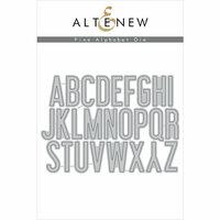 Altenew - Dies - Fine Alphabet