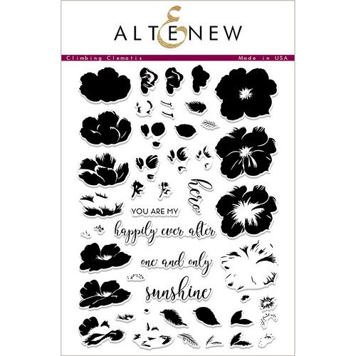 Altenew - Clear Acrylic Stamps - Climbing Clematis