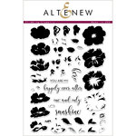 Altenew - Clear Photopolymer Stamps - Climbing Clematis