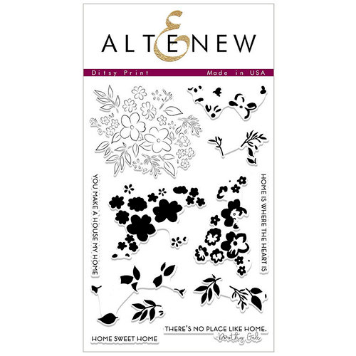 Altenew - Clear Photopolymer Stamps - Ditsy Print