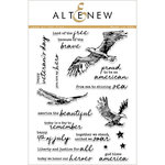 Altenew - Clear Acrylic Stamps - Land of the Free