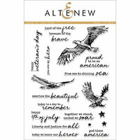Altenew - Clear Photopolymer Stamps - Land of the Free