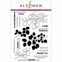 Altenew - Clear Photopolymer Stamps - Leaf Canopy