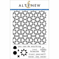Altenew - Clear Photopolymer Stamps - Moroccan Mosaic