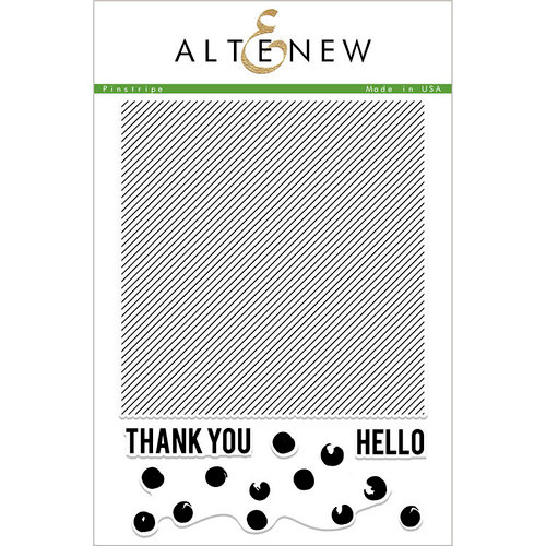 Altenew - Clear Photopolymer Stamps - Pinstripe