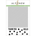 Altenew - Clear Acrylic Stamps - Pinstripe
