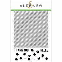 Altenew - Clear Photopolymer Stamps - Pinstripe