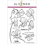 Altenew - Clear Acrylic Stamps - Sweetest Peas
