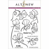 Altenew - Clear Photopolymer Stamps - Sweetest Peas