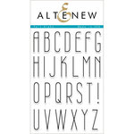 Altenew - Clear Acrylic Stamps - Tall Alpha