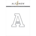 Altenew - Dies - Mega Alphabet - A