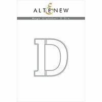 Altenew - Dies - Mega Alphabet - D