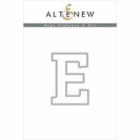 Altenew - Dies - Mega Alphabet - E