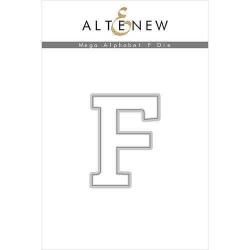 Altenew - Dies - Mega Alphabet - F