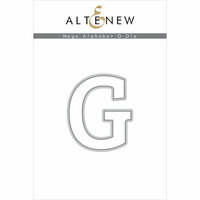 Altenew - Dies - Mega Alphabet - G