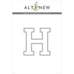Altenew - Dies - Mega Alphabet - H