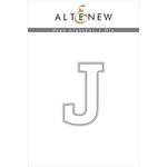 Altenew - Dies - Mega Alphabet - J