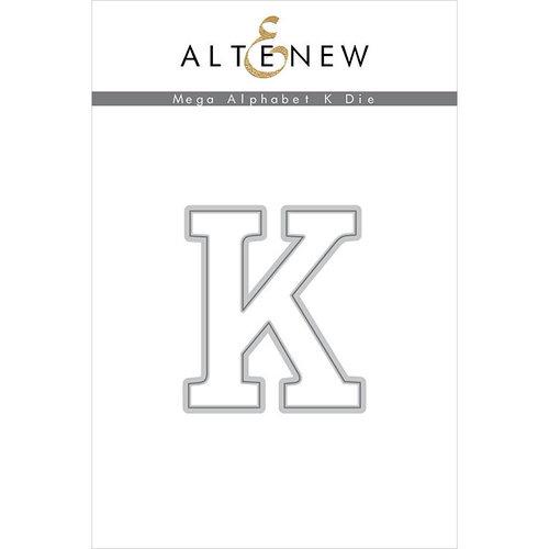 Altenew - Dies - Mega Alphabet - K
