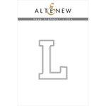 Altenew - Dies - Mega Alphabet - L