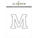 Altenew - Dies - Mega Alphabet - M