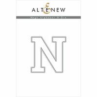 Altenew - Dies - Mega Alphabet - N