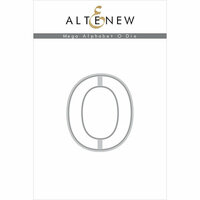 Altenew - Dies - Mega Alphabet - O