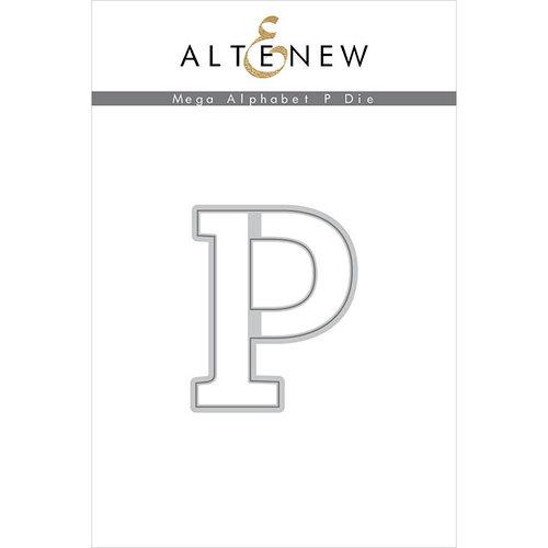 Altenew - Dies - Mega Alphabet - P