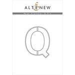 Altenew - Dies - Mega Alphabet - Q
