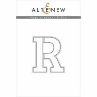 Altenew - Dies - Mega Alphabet - R