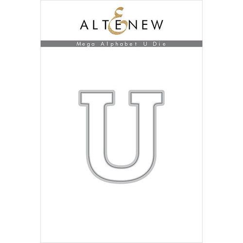 Altenew - Dies - Mega Alphabet - U