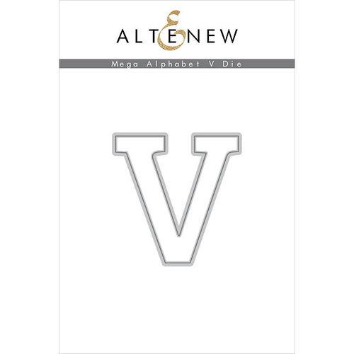 Altenew - Dies - Mega Alphabet - V
