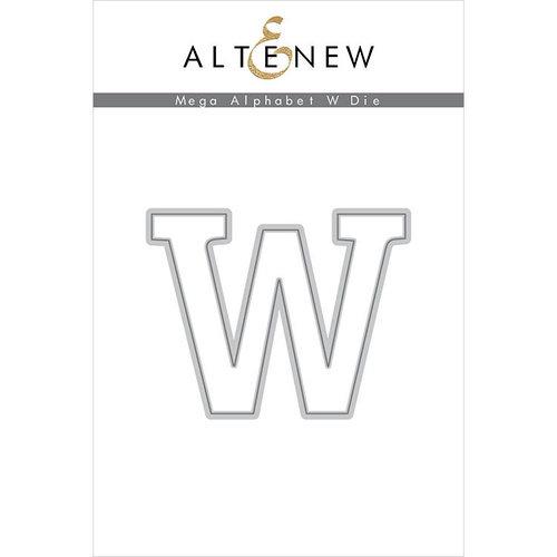 Altenew - Dies - Mega Alphabet - W